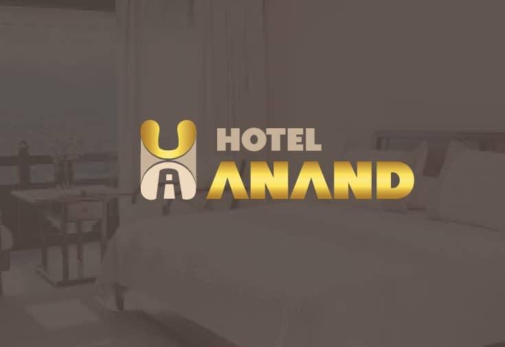 Hotel Anand Logo Desiger in Delhi