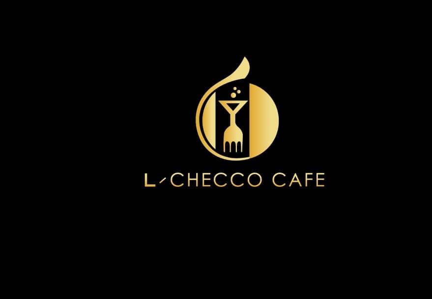 L-checco cafe logo designer