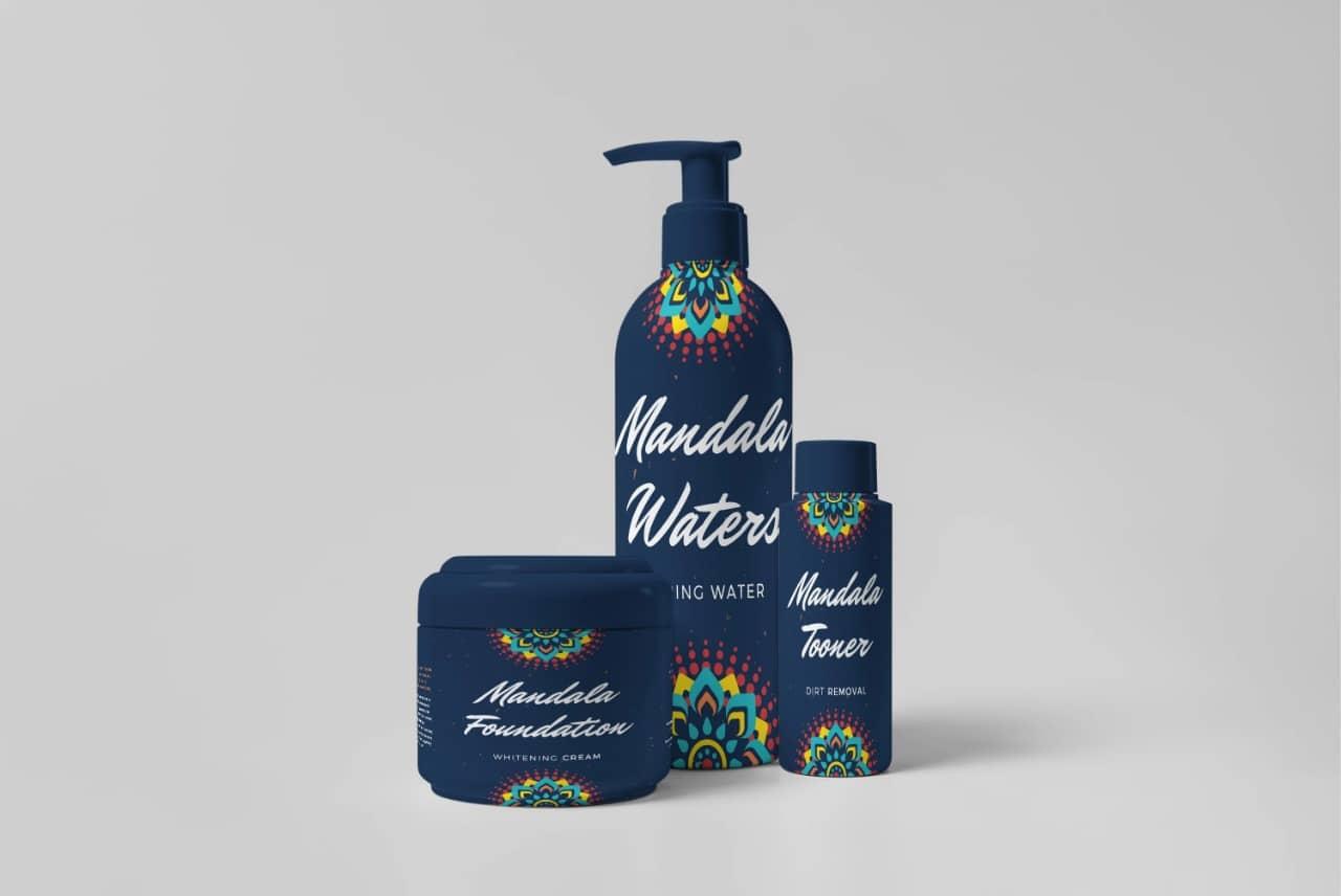 Mandala Water Packaging Design