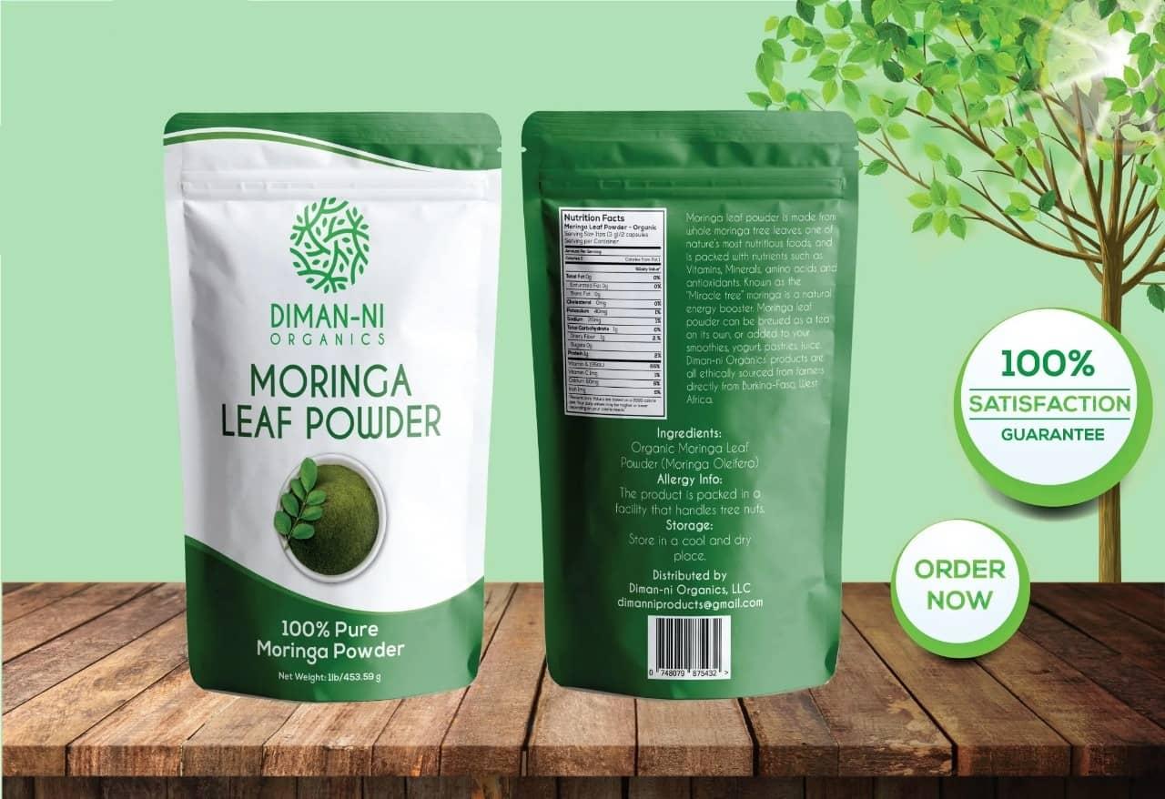 Morinca Leaf Powder