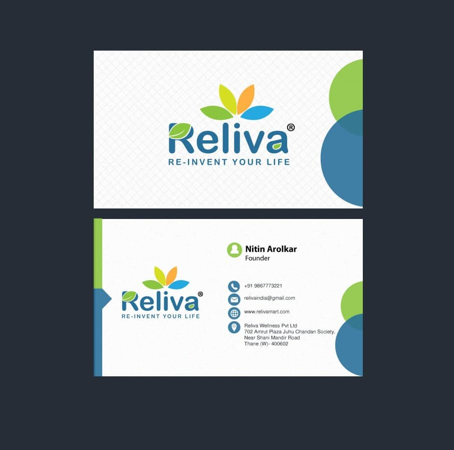 Reliva logo designer Pune